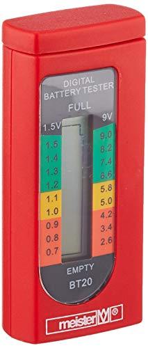 Meister Batterietester digital, 1,5 - 9 V, 7472000