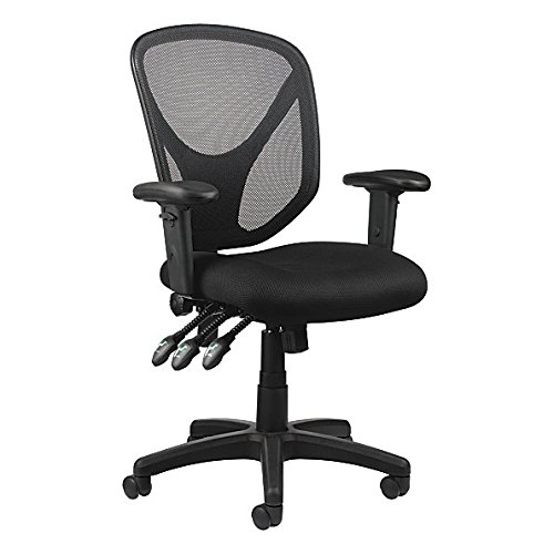 Realspace MFTC 200 Multifunction Ergonomic Super Task Chair, Black Item # 493876