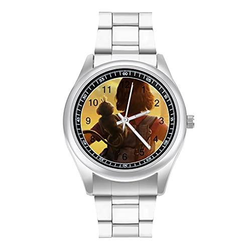 Reloj de pulsera Dora de moda simple y hermoso estilo deportivo casual de negocios correa de acero