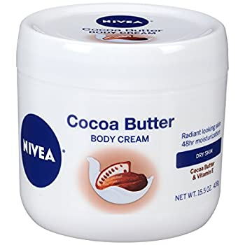 NIVEA Cocoa Butter Body Cream with Deep Nourishing Serum 15.5 Ounce
