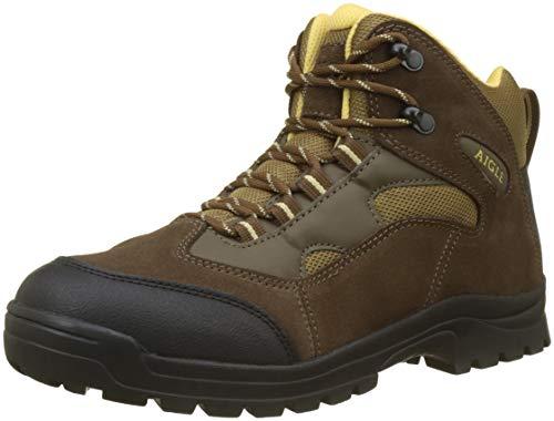Aigle Beaucens, Chaussures de Randonnée Hautes Homme, Marron (Marron/Genet), 45 EU