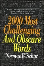 Image for 2000 Most Challenging and Obscure Words