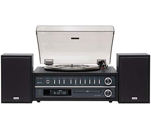 #07 Teac MC-D800 Sistema Home Audio All-In-One con Giradischi, Nero