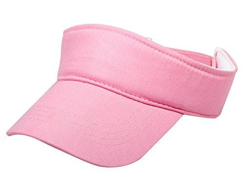 fletion 100% coton unisexe pour enfants Garçons Filles UV soleil Visière de Tennis de respirant doux Casquette de baseball