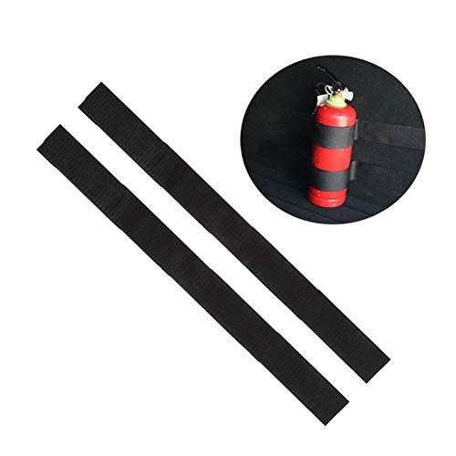 FENGFENG Sun Can 4Pcs/Set Car Fire Extinguisher Sticker Nylon Tape Belt Net Bandage Car Tape Belt Bandage Car Trunk Boot Fire Extinguisher Tape (Color : 4pcs)