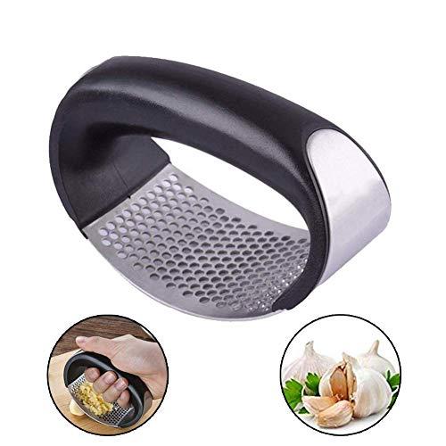STN Rocker picadora de ajo, prensador de ajos, exprimidor de Jengibre, prensador de ajos de Acero Inoxidable - Nuevo diseño
