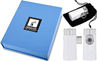 Wizard Research Laboratories Handheld Sized Portable Nebulizer Silent Rechargeable for Saline Albuterol & Other Liquids (B084KZ8PSN)