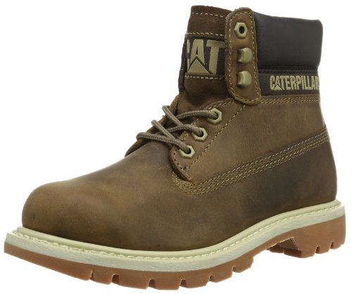 Caterpillar Damen Colorado Burnish Brights Chukka Boots, Beige Dark Beige, 38 EU