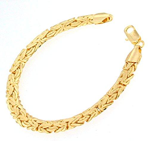 tendenze-ITALY Unisex Latón sin níquel dorado.