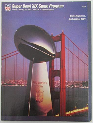 Super Bowl XIX Official Program Miami vs San Francisco 128395