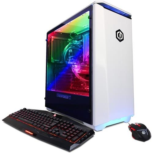 CYBERPOWERPC Gamer Supreme Liquid Cool SLC8842OPT PC (ntel i7+ 8700K...