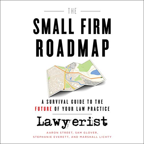 The Small Firm Roadmap audiobook cover art