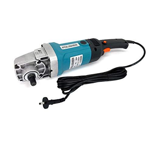 HXFYJ Pulidora pulidora pulidora rotativa 1400W pulidora pulidora, Kit de Detalles de Coche, 8 velocidades Variables, asa, para pulir y lijar Coches, Muebles,Blue