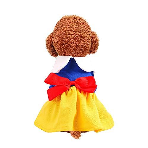 Qilo Ropa para perros Ropa de mascotas Chaleco para perros, mono de ropa de cachorro adorable, abrigo de gato ligero ropa para mascotas Ropa de perro caliente para perros pequeños niña para uso en int
