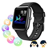 Smart Watch Women Men, Smart Watch Kids, Smartwatch Touch Wristband Waterproof Sport Pedometer Cardio Vibrating Smart Watch Fitness Tracker Walking Running