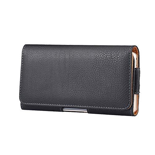 Étui de ceinture en cuir avec clip pour Sony Xperia 10 Plus, 1, XA Ultra, 1 II, L4 pour Samsung Galaxy S20 FE 5G, S20 Ultra, S20+, A71 5G