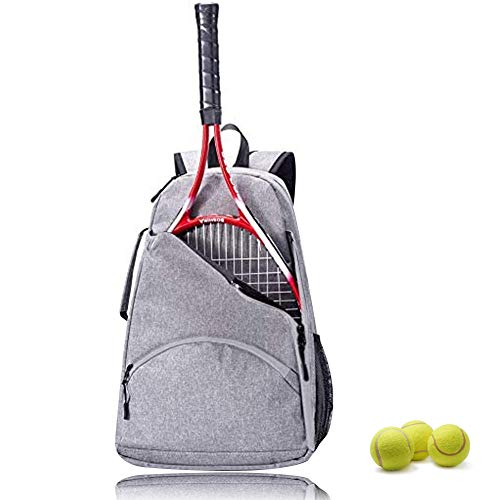 Tennis Bag,Tennis Racket Backpack,Tennis & Racquet Sports Bag,Tennis Racket Bag for Women and Men to Hold Tennis Racket,Balls and Other Accessories(12 x 6.5 x 18 Inch)