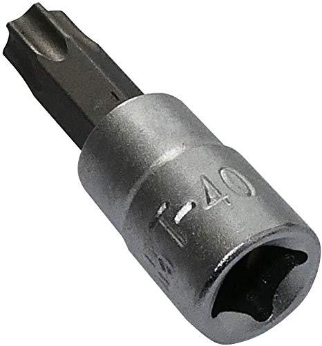 """Aerzetix - Puntas para Tornillos T40 - Llave de vaso 1/4"""" - C2169"""