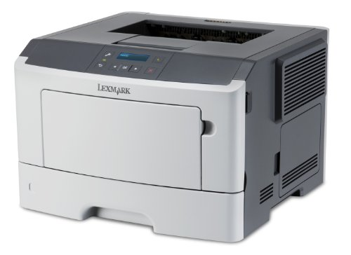 Lexmark MS410DN Laserdrucker (1200 dpi, USB 2.0) graphit/weiß