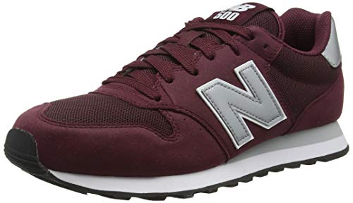 New Balance Herren GM500 Sneaker, Rot (Burgundy/GM500BUS), 44 EU