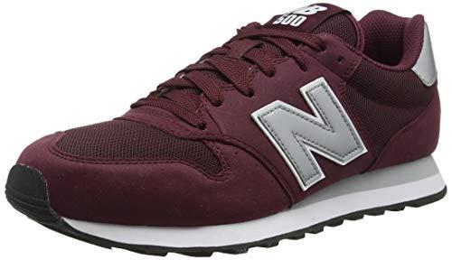 New Balance 500 Core, Zapatillas para Hombre, Rojo Burgundy Burgundy, 40 EU