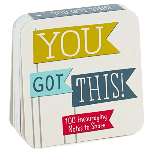 Hallmark You Got This! Little Notes of Cheer to Share Gift Book Inspirational Books Body, Mind & Spirit