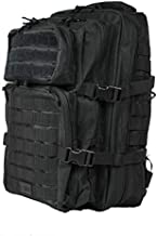 OSAGE RIVER Fly Fishing Backpack, Tackle and Rod Storage, Black