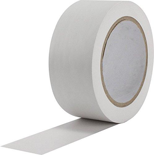 DollaTek 36 Yards Allzweck Klebeband Farbcodierung Pack Bodenmarkierungsband - weiß