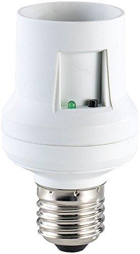 CASAcontrol Dimmbare Fassung: Funk-Lampenfassung, E27, dimmbar (Lampenfassung mit Dimmer)