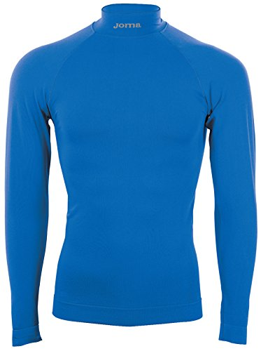 Joma Brama Classic, Camiseta térmica Unisex, Azul royal, S/M