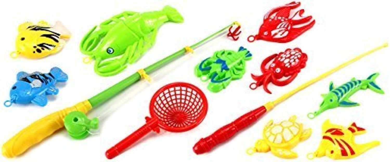 Deluxe Gone Fishing Toy Activity Roleplay Pretend Play Set w  Variety of Fishing Accessories by Toy Activity Roleplay Sets