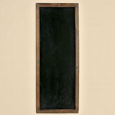 Deko-Impression Große Tafel Wandtafel, Kreidetafel, Schreibtafel, Werbetafel, Holzrahmen 115