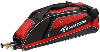 Easton E500T Bat & Equipment Tote Bag | Baseball Softball | 2020 | 3 Bat Compartment | Vented Pockets | Side Pocket | Interior Valuables Pocket | Water Bottle Pocket | Backpack Straps | Fence Hook
