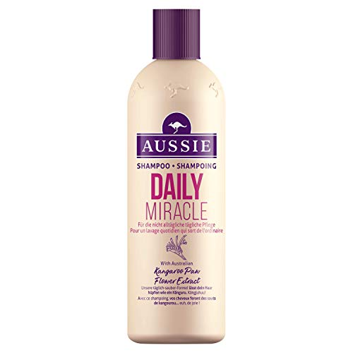 Aussie Daily Miracle Shampoo für Das Saubere Gefühl Jeden Tag, 300ml