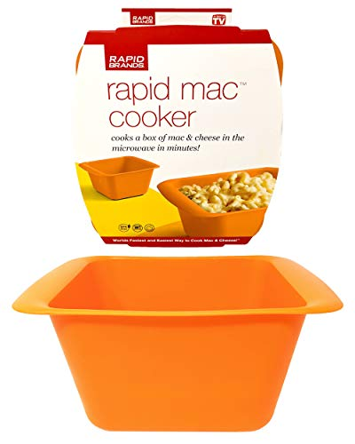 Rapid Mac Cooker | Microwave Macaroni & Cheese in 5 Minutes | Perfect for Dorm, Small Kitchen, or...