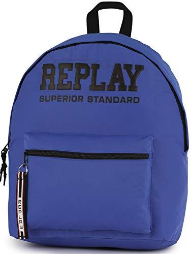 Replay Rucksack für Jungen, Blau, 40 x 30 x 15 cm