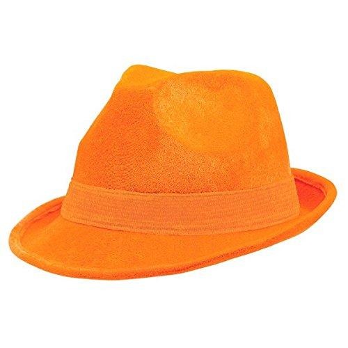 Orange Fedora  Amazon.com e295c7b44da