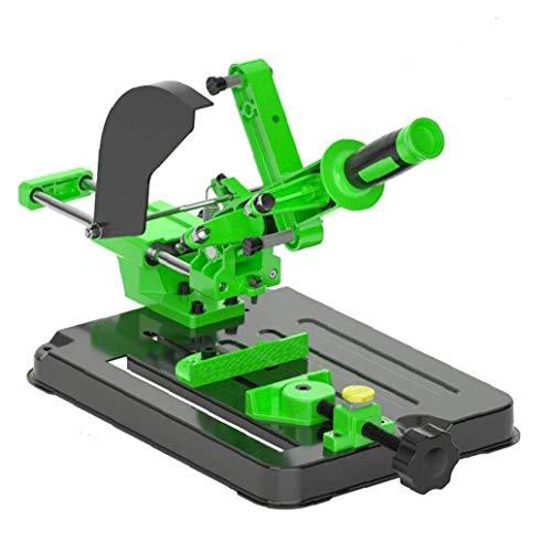 EElabper Winkelschleifer Halter Halterung Stützfuß Maschinenständer Spann 80mm für 100 125 Winkel Mühle