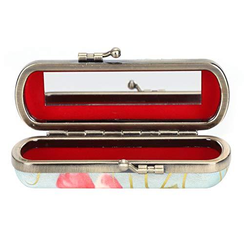 Porte-étui à rouge à lèvres, étui à rouge à lèvres Vintage, motif de broderie traditionnelle pour fille femme