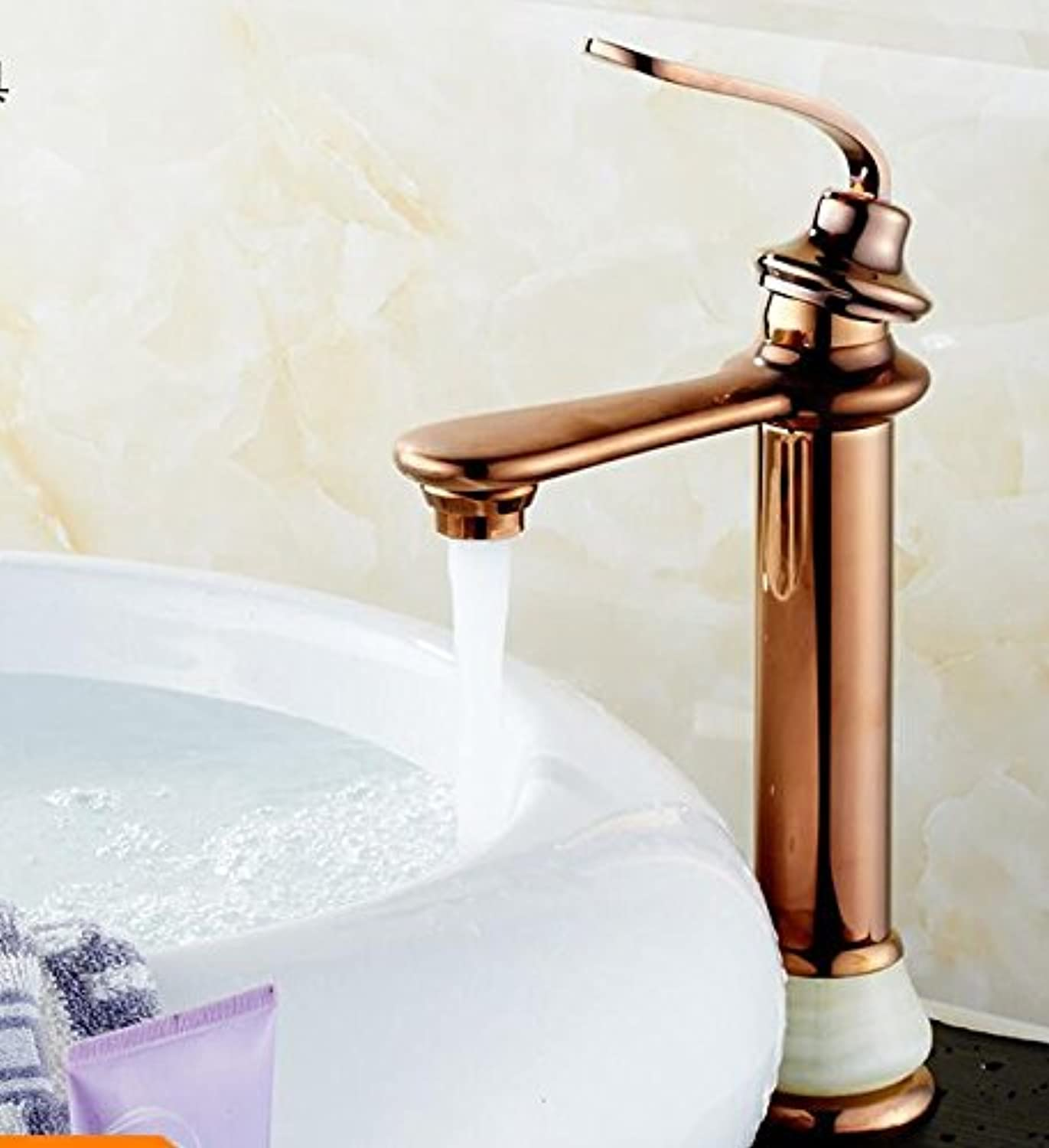 GQLB Kitchen tap hot and cold water mixer taps kitchen sink basin mixer tap solid brass