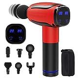 Massage Gun for Athletes, Deep Tissue Percussion Muscle Massager Handheld Electric Massage Gun Cordless Body Muscle Gun