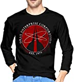 Drax Enterprise Corporation James Fleming 007 Hugo Bond 1979 Company Industries Cotton Long Sleeve Shirt Black,Black,L