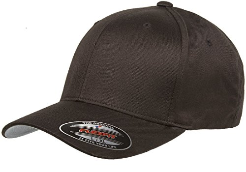 Flexfit Basecap Wooly Combed Small / Medium,Brown