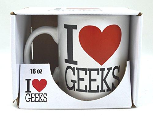 (I Love Heart, Geeks-Humourous, 473 ml