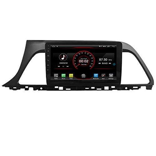 KLL Android 10 Car DVD Player GPS Stereo Head Unit Navi Radio Multimedia WiFi para Hyundai Sonata LF 2015 2016 2017 Soporte Control del Volante
