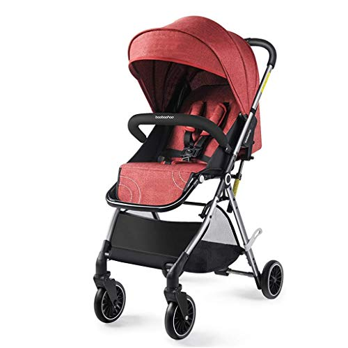 Purchase Cozy Baby Stroller, Convertible Reclining Stroller, Foldable and Portable Pram Carriage Pus...