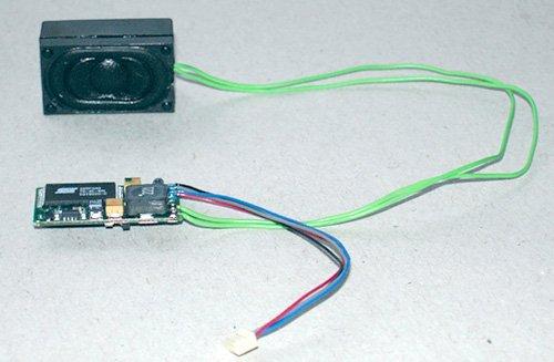 Piko 56197 - Soundmodul & Lautsprecher BR 118