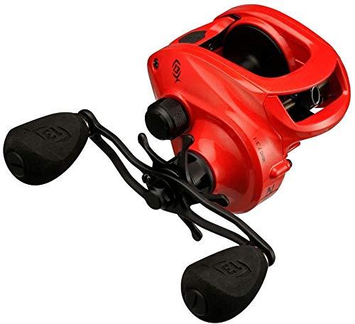 13 Fishing Concept Z3 Salzwasser Baitcast-Angelrolle, Unisex-Erwachsene, Concept Z3, Orange, 7.3:1 Gear Ratio