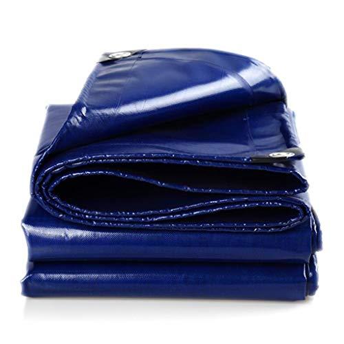 Bâche Bleue Imperméable, Bâche De Protection Sol Multifonctionnelle De Bâche De Bâche Résistante Extérieure D'ombre (taille : 3.8m*4.8m)