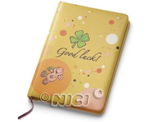 NICI Glücksschwein, Blankbuch, DIN A 6, 80 Seiten, liniert